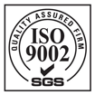 ISO 9002 quality assured firm
