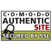 COMODO authentic site secured by SSL